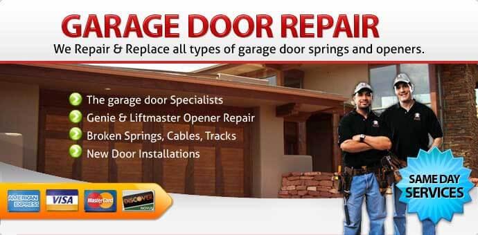 Garage door repair Santee CA
